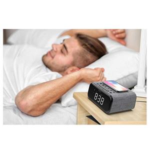 Ceas cu Radio FM VAVA 5 in 1, Boxa Bluetooth, Incarcator Wifi [2]