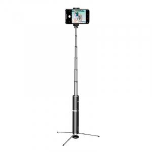 Selfie Stick Tripod Baseus 2 in 1 cu Telecomanda Bluetooth detasabila [2]