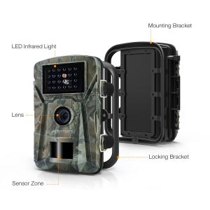 """Camera de vanatoare Apeman H45 senzor de miscare , 16 MP, full HD, 2.4"""" LCD , 940nm, night vision , 26 senzori infrarosu [1]"""