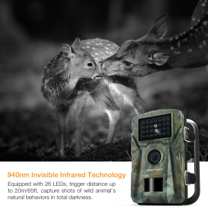 """Camera de vanatoare Apeman H45 senzor de miscare , 16 MP, full HD, 2.4"""" LCD , 940nm, night vision , 26 senzori infrarosu [4]"""
