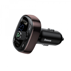 Modulator FM Baseus FM T-Type Bluetooth MP3 incarcator masina [3]