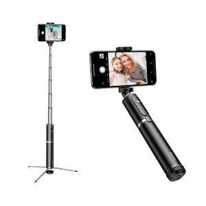Selfie Stick Tripod Baseus 2 in 1 cu Telecomanda Bluetooth detasabila [0]