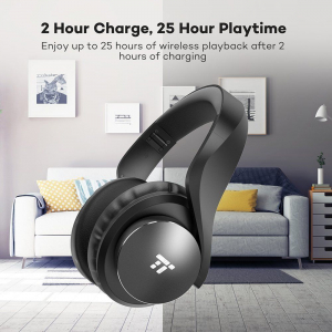 Casti audio TaoTronics TT-BH021, Noise canceling, True Wireless - Resigilat4