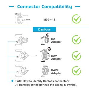 Kit Cap termostatic calorifer Meross MTS100H cu Hub, Smart, Alexa, Google Home, control smartphone6