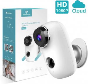 Kit Camera supraveghere de exterior WIFI HeimVision HMD2 cu panou solar  HMS1, 1080P cu nightvision, senzor miscare, notificare miscare, acumulator, audio bidirectional, WiFi, slot microSD card1