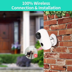 Kit Camera supraveghere de exterior WIFI HeimVision HMD2 cu panou solar  HMS1, 1080P cu nightvision, senzor miscare, notificare miscare, acumulator, audio bidirectional, WiFi, slot microSD card2