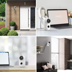 Kit Camera supraveghere de exterior WIFI HeimVision HMD2 cu panou solar  HMS1, 1080P cu nightvision, senzor miscare, notificare miscare, acumulator, audio bidirectional, WiFi, slot microSD card4
