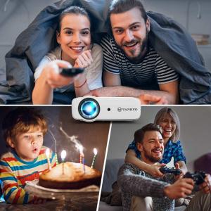 Videoproiector Vankyo  Leisure 430, 4000 Lumeni, LED, HDMI, SD, AV, VGA, USB, Geanta de transport, Telecomanda, Cablu HDMI6