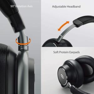 Casti audio TaoTronics TT-BH046, Hybrid Noise canceling, Bluetooth 5.0, True Wireless, cVc 6.0, Bas puternic si clar - Resigilat1