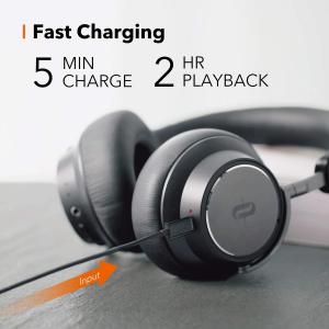 Casti audio TaoTronics TT-BH046, Hybrid Noise canceling, Bluetooth 5.0, True Wireless, cVc 6.0, Bas puternic si clar - Resigilat4