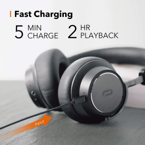 Casti audio TaoTronics TT-BH046, Hybrid Active Noise canceling, Bluetooth 5.0, True Wireless, cVc 6.0, Bas puternic si clar4