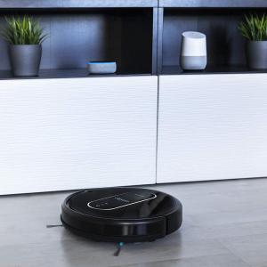 Aspirator robot 4 in 1 Cecotec Conga 1490 Impulse, Control aplicatie, 1400Pa, autonomie 160 minute, rezervor lichide si praf, functie mop2