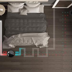 Robot de aspirare Cecotec Conga 3390, 4 in 1, 2300 Pa, Laser, Autonomie 150 minute, Rezervor lichide si praf, Functie mop, 2 perii centrale4