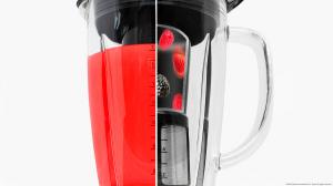 Blender Cecotec Power Black Titanium 1800, 1800 W, Zdrobire gheata, Bol sticla, Filtru pentru sucuri, 22000-rpm [5]