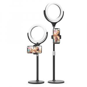 Lampa Circulara LED BlitzWolf BW-SL4 Make up Profesionala, Ring Light 64 Leduri cu Lumina Rece/Calda Tip Inel [2]