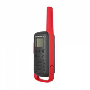 Statie radio PMR portabila Motorola TALKABOUT T62 RED, set cu 2 buc2