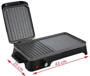Gratar Grill Electric Adler AD 6608, Putere 2200W, Reglare Temperatura, Termostat1