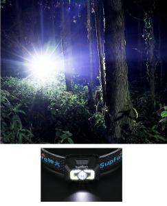 Lanterna LED pentru cap Supfire X30, USB, 500lm, 130m [5]