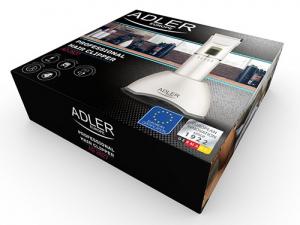 Masina profesionala de tuns parul Adler AD 2827, fara fir, 4 piepteni , titan,lame ceramice,Li-ion,led [1]