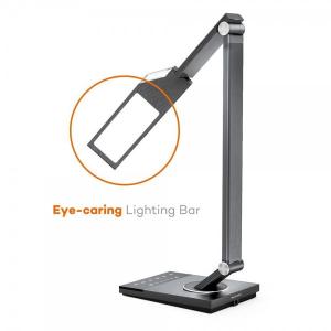 Lampa de birou LED TaoTronics TT-DL063, protectie ochi, control touch, 5 moduri, USB, lumina de noapte [2]