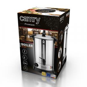 Fierbator profesional apa,vin fiert,ceai Camry CR 1267, 950 w,temperatura reglabila,capacitate 8,8 litri,inox [2]