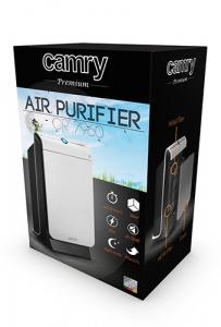 Purificator de aer Camry CR 7960, 45 Wati, Filtru HEPA, Filtru carbon,Functie ionizre ,Alb/Negru2