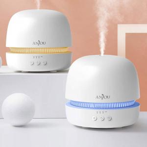 Difuzor aroma terapie Anjou AJ-ADA019, 300ml, LED 7 culori, BPA free, oprire automata [4]