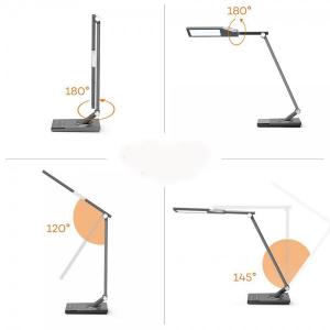Lampa de birou LED TaoTronics TT-DL16, protectie ochi, control touch, 5 moduri, USB, lumina de noapte [3]