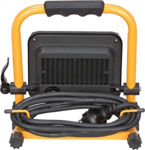 Proiector LED portabil Brennenstuhl JARO 2000M, 20W, 1870 lm, 3.7V, cablu 2m Ilumina 6500K, IP653
