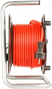 Prelungitor Exterior Brennenstuhl Garant cu  tambur cu priza multipla, 3 posturi, 40m, IP44 [2]