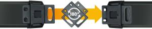 Prelungitor Brennenstuhl cu protectie Premium-Line, 6 prize si 2 usb-uri, USB-C, 3m3