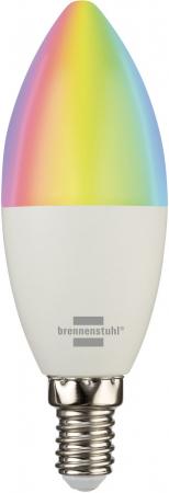 Bec LED RGB Smart Brennenstuhl E14, Control din aplicatie [1]