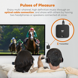 Transmitator si Receptor Audio Bluetooth TaoTronics TT-BA09 Portabil, Bluetooth 4.1, aptX, Cablu Optic & Jack 3.5mm [4]