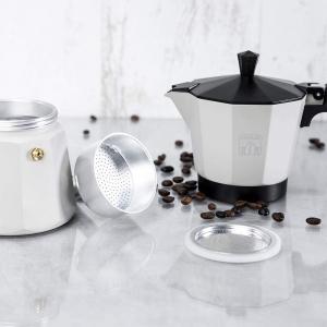 Cafetiera Cecotec Mimoka 600, 300 ml, 6 cani de cafea, inductie, Bej [5]