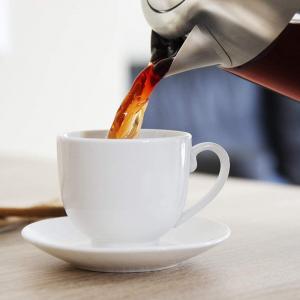 Fierbator cu filtru de ceai  2 in 1 Cecotec ThermoSense 370 Clear, 2200 W, 1.7L, Inox, oprire automata [1]