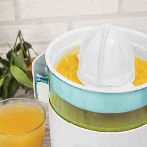 Storcator de citrice Cecotec Zitrus TowerAdjust Easy, 350W filtru pulpa reglabil, BPA free, Alb1