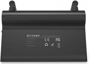 Transmitator si Receptor Audio  BlitzWolf BW-BR5 Bluetooth 5.0, Cablu Optic & Jack 3.5mm, conectare multipla2