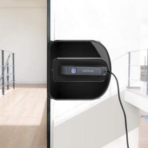 Robot curatare geamuri Cecotec Conga WinDroid 980 Connected, Aplicatie Smartphone, Telecomanda, Stergere uscata si umeda,  5 moduri de curatare [1]