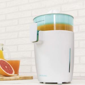 Storcator de citrice Cecotec Zitrus TowerAdjust Easy, 350W filtru pulpa reglabil, BPA free, Alb2