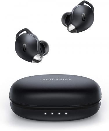 Casti wireless TaoTronics SoundLiberty 79 TWS, sunet puternic si clar,  Smart AI Noise Reduction Technology, 30 ore, IPX8, USB-C [0]
