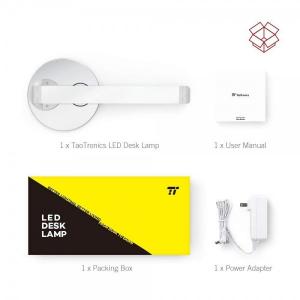 Lampa de birou LED TaoTronics TT-DL69, protectie ochi, control touch, Incarcare Telefon Wireles si USB [5]