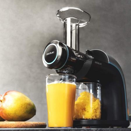 Storcator Cecotec Juice&Live 2000 EasyClean cu sisitem de presare la rece, tambur dublu de separare a sucului, silentios, 3 viteze, negru [3]