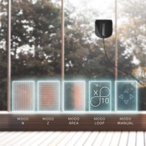 Robot curatare geamuri Cecotec Conga WinDroid 980 Connected, Aplicatie Smartphone, Telecomanda, Stergere uscata si umeda,  5 moduri de curatare [12]