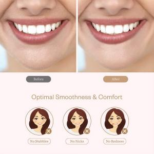 Trimmer facial femei Anjou AJ-PCA024, pentru mustata, parul facial, baterie reincarcabila [2]