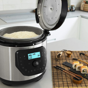 Multicooker cu gatire la presiune Cecotec GM H, 1000 W, 6 L, 19 de programe, Vas antiadeziv detasabil [2]