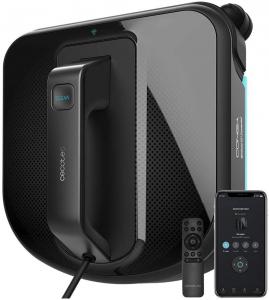 Robot curatare geamuri Cecotec Conga WinDroid 980 Connected, Aplicatie Smartphone, Telecomanda, Stergere uscata si umeda,  5 moduri de curatare [0]