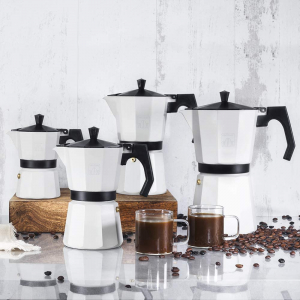 Cafetiera Cecotec Mimoka 300, 150 ml, 3 cani de cafea, Bej [3]