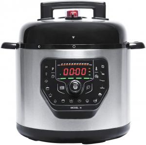 Multicooker cu gatire la presiune Cecotec GM H, 1000 W, 6 L, 19 de programe, Vas antiadeziv detasabil0