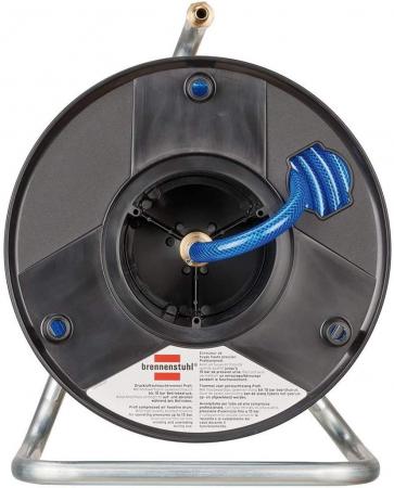 Furtun Aer comprimat compresor Brennenstuhl cu tambur, anti rasucire, 20m, Ø 6/12mm, 15 bari1