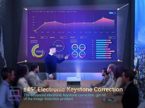 Videoproiector VANKYO Performance V630, 6000 Lumeni, Native 1080p, LED, HDMI, VGA, AV, USB, Geanta de transport, Telecomanda, Cablu HDMI [4]